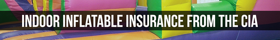 Indoor Inflatable Liability Insurance from the CIA
