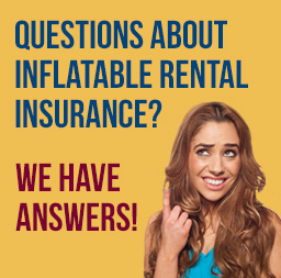 Questions about inflatable rental insurance?