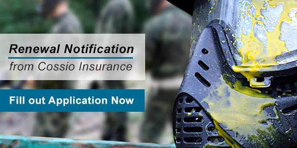 Insurance Renewal Notification from Cossio Insurance